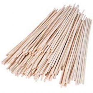 "Thin 2.5mm Rattan Reeds for Diffusers. Reeds are 242mm (9½"") long"